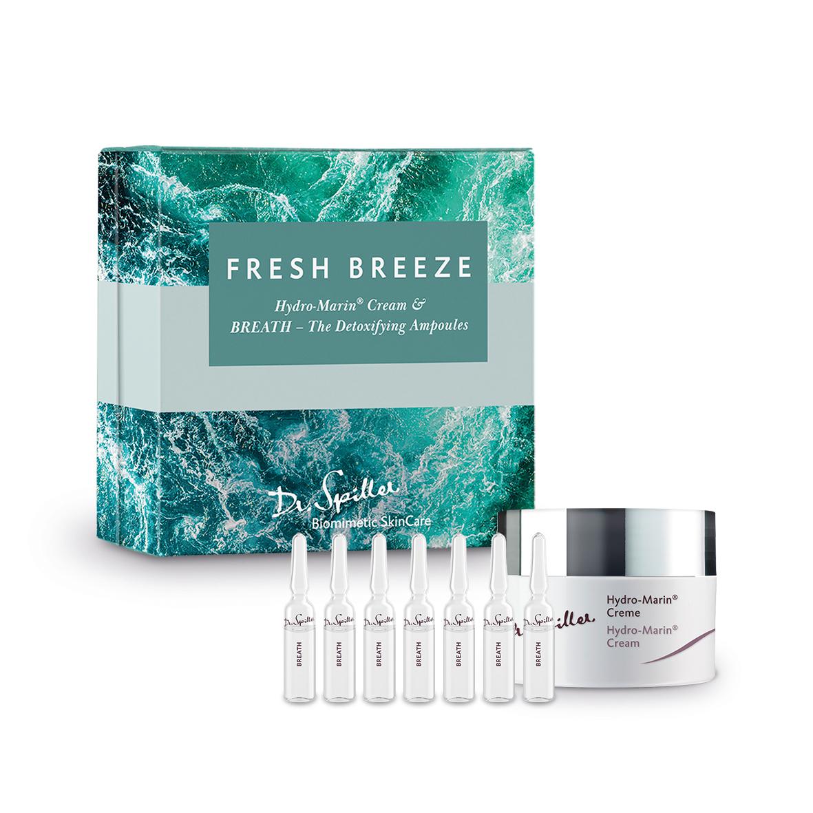 Fresh Breeze Set - Hydro Marin Creme & BREATH Ampullen
