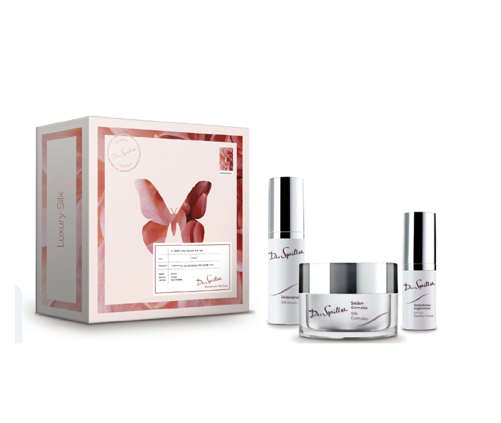 Gesichtspflege-Set Luxury Silk